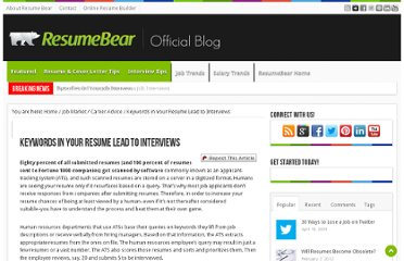 http://blog.resumebear.com/changing-careers/keywords-in-your-resume-lead-to-interviews/