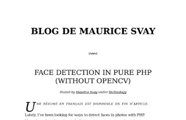 http://svay.com/blog/face-detection-in-pure-php-without-opencv/