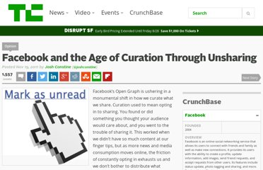 http://techcrunch.com/2011/11/19/curation-through-unsharing/