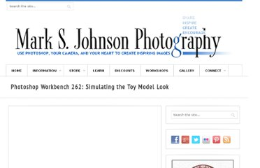 http://www.msjphotography.com/index.php/2011/01/photoshop-workbench-262-simulating-the-toy-model-look/