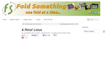 http://foldsomething.com/2010/origami-videos/6-petal-lotus/