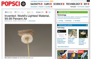 http://www.popsci.com/technology/article/2011-11/worlds-lightest-material-9999-percent-air