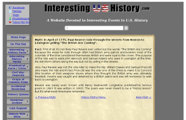 http://www.interestingushistory.com/Myth-In-April-of-1775-Paul-Revere.html