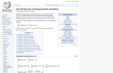 http://en.wikipedia.org/wiki/List_of_integrals_of_trigonometric_functions