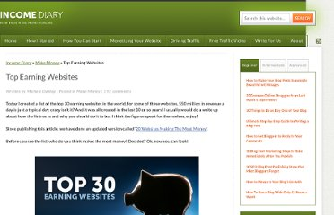 http://www.incomediary.com/top-earning-websites