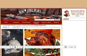 http://amazingribs.com/recipes/chicken_turkey_duck/ultimate_smoked_turkey.html