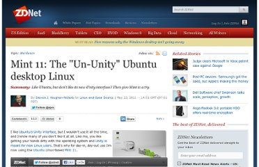 http://www.zdnet.com/blog/open-source/mint-11-the-un-unity-ubuntu-desktop-linux/8956