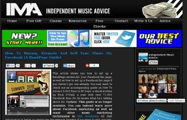 http://www.independentmusicadvice.com/2010/06/how-to-stream-promote-and-sell-your-music-on-facebook-a-bandpage-guide/