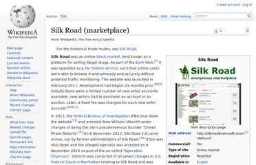 http://en.wikipedia.org/wiki/Silk_Road_(marketplace)