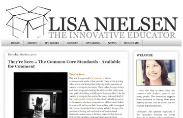 http://theinnovativeeducator.blogspot.com/2010/03/they-here-common-core-standards.html