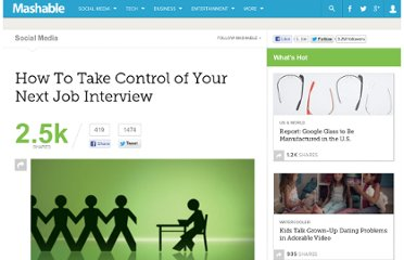 http://mashable.com/2011/11/20/job-interview-tips/