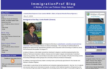 http://lawprofessors.typepad.com/immigration/2009/05/immigrant-of-the-day-linda-katehi-greece.html