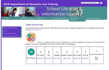 http://www.curriculumsupport.education.nsw.gov.au/schoollibraries/teachingideas/isp/k_6/cogsresources.htm
