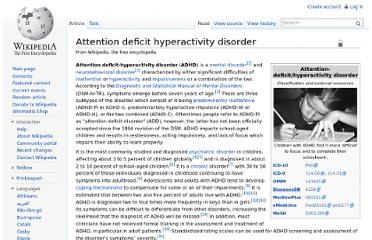 http://en.wikipedia.org/wiki/Attention_deficit_hyperactivity_disorder