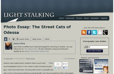 http://www.lightstalking.com/photo-essay-the-street-cats-of-odessa
