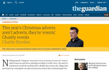 http://www.guardian.co.uk/commentisfree/2011/nov/20/christmas-adverts-john-lewis