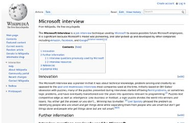 http://en.wikipedia.org/wiki/Microsoft_interview#Interview_questions