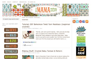 http://thismamamakesstuff.com/category/tutorials/