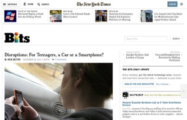 http://bits.blogs.nytimes.com/2011/11/20/a-teenage-question-a-car-or-a-smartphone/