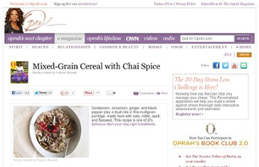 http://www.oprah.com/food/Mixed-Grain-Cereal-with-Chai-Spice