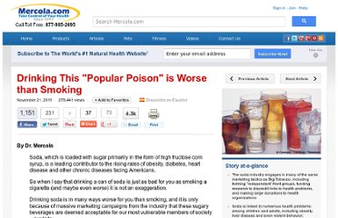 http://articles.mercola.com/sites/articles/archive/2011/11/21/soda-linked-to-health-problems.aspx