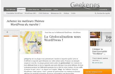 http://www.geekeries.fr/wordpress/la-geolocalisation-sous-wordpress-3805