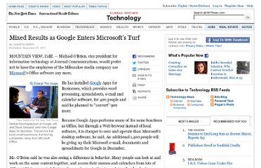 http://www.nytimes.com/2011/11/21/technology/google-enters-microsoft-offices-turf-with-mixed-results.html?pagewanted=all
