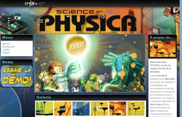 http://www.scienceenjeu.com/physica/