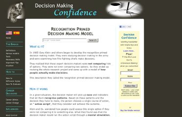 http://www.decision-making-confidence.com/recognition-primed-decision-making-model.html