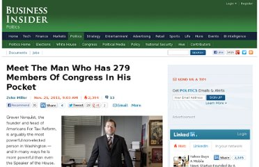 http://www.businessinsider.com/meet-the-man-who-has-279-members-of-congress-in-his-pocket-2011-11