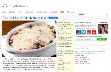 http://www.lifesambrosia.com/2011/09/hot-and-spicy-black-bean-dip-recipe.html