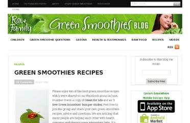http://greensmoothiesblog.com/green-smoothies-recipes/
