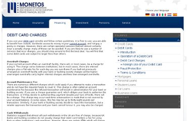 http://www.monetos.co.uk/financing/debit-cards/charges/