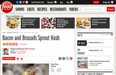 http://www.foodnetwork.com/recipes/tyler-florence/bacon-and-brussels-sprout-hash-recipe2/index.html
