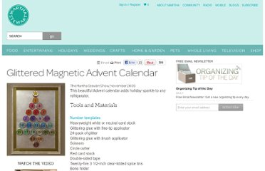 http://www.marthastewart.com/266538/glittered-magnetic-advent-calendar