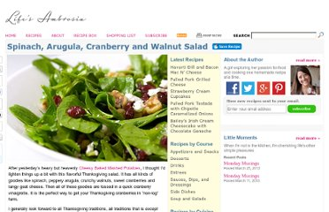http://www.lifesambrosia.com/2009/11/spinach-arugula-cranberry-walnut-salad-recipe.html
