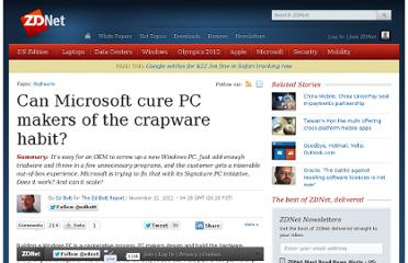 http://www.zdnet.com/blog/bott/can-microsoft-cure-pc-makers-of-the-crapware-habit/4231