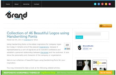 http://ibrandstudio.com/inspiration/collection-of-46-beautiful-logos-using-handwriting-fonts