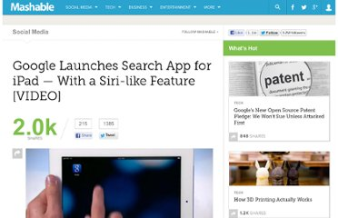 http://mashable.com/2011/11/21/google-launches-search-app-for-ipad-with-a-siri-like-feature/