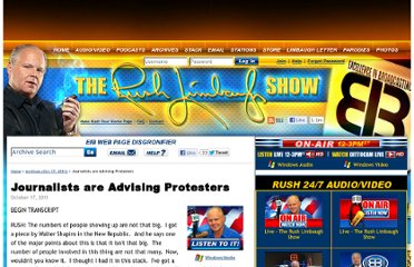 http://www.rushlimbaugh.com/daily/2011/10/17/journalists_are_advising_protesters