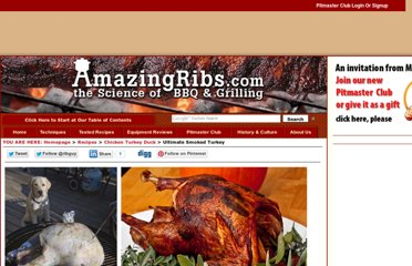 http://www.amazingribs.com/recipes/chicken_turkey_duck/ultimate_smoked_turkey.html