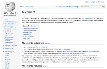 http://fr.wikipedia.org/wiki/Alicament