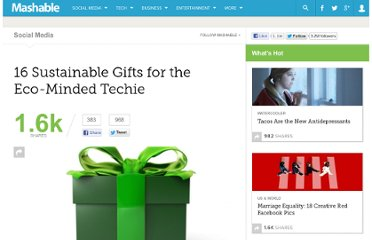 http://mashable.com/2011/11/22/sustainable-tech-gifts/