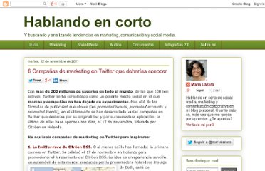 http://hablandoencorto.blogspot.com/2011/11/campanas-marketing-twitter.html