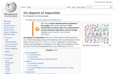 http://en.wikipedia.org/wiki/Six_degrees_of_separation#Twitter