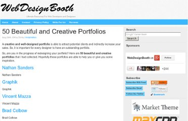 http://www.webdesignbooth.com/50-beautiful-and-creative-portfolios/