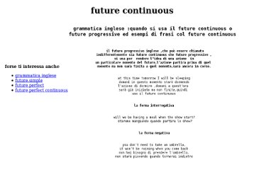 http://www.shakespeareinitaly.it/futurecontinuous.html