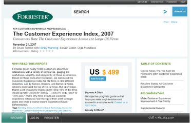 http://www.forrester.com/rb/Research/customer_experience_index%2C_2007/q/id/43877/t/2