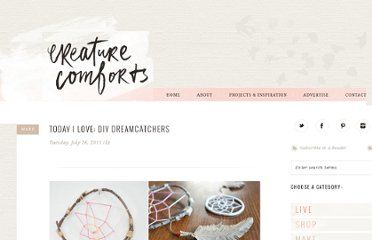 http://www.creaturecomfortsblog.com/home/2011/7/26/today-i-love-diy-dreamcatchers.html