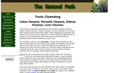 http://www.the-natural-path.com/toxic-cleansing.html
